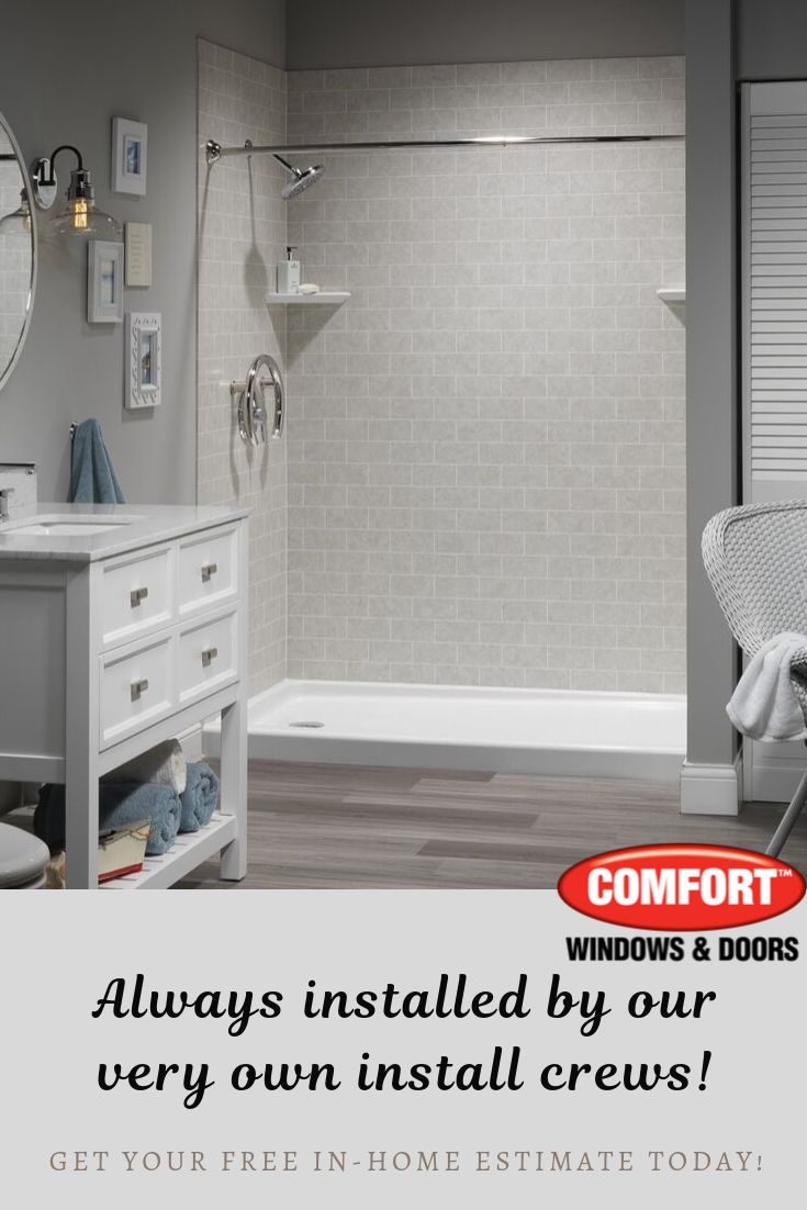 If You Ve Been Dreaming Of A New Bathroom Call Comfort Our Bath Systems Can Be Installed In As Little As One Day And Bathrooms Remodel Home Estimate Remodel