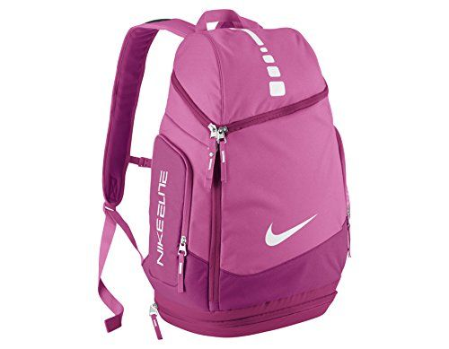 7dffed730c139 Nike Hoops Elite Max Air Team Backpack Pink Fire/Fusion Pink/White ...