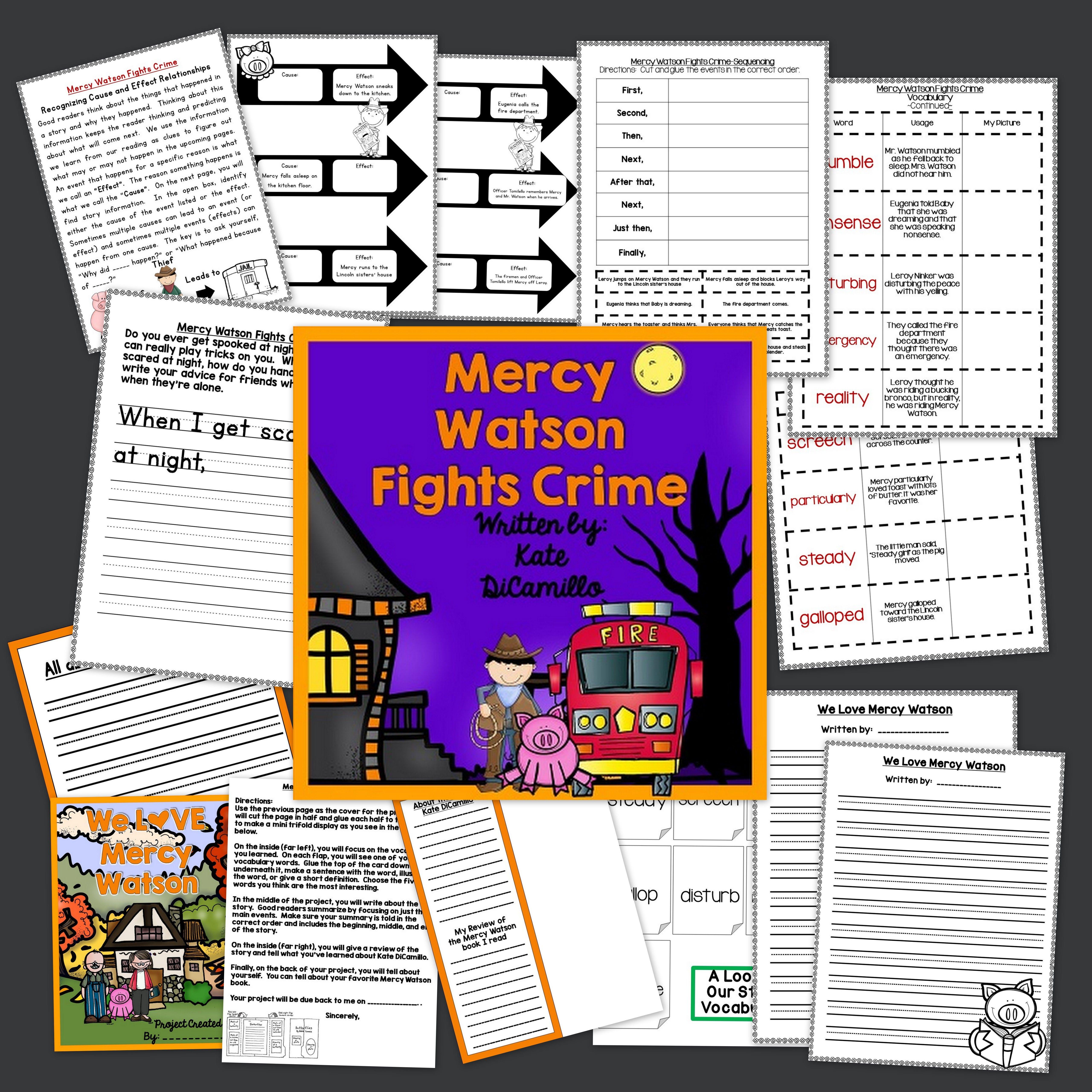 Mercy Watson Fights Crime Activities