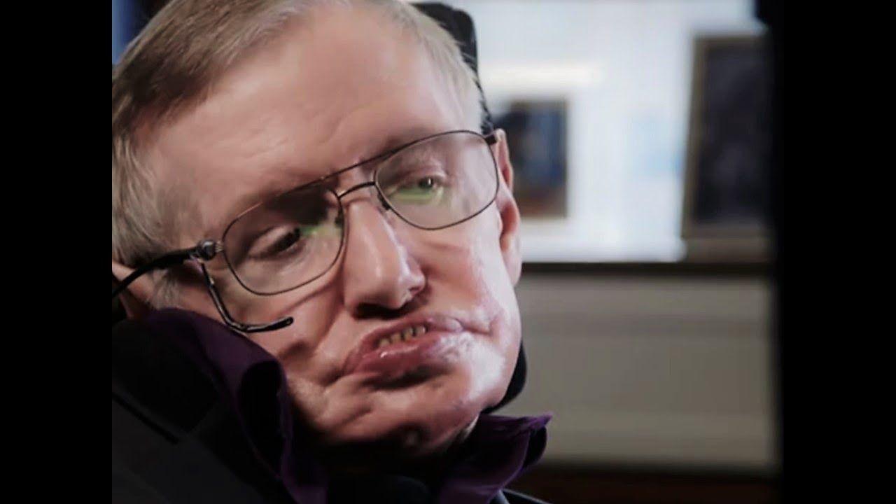 The Most Inspiring Speech By Stephen Hawking Stephen Hawking Physicist Youtube