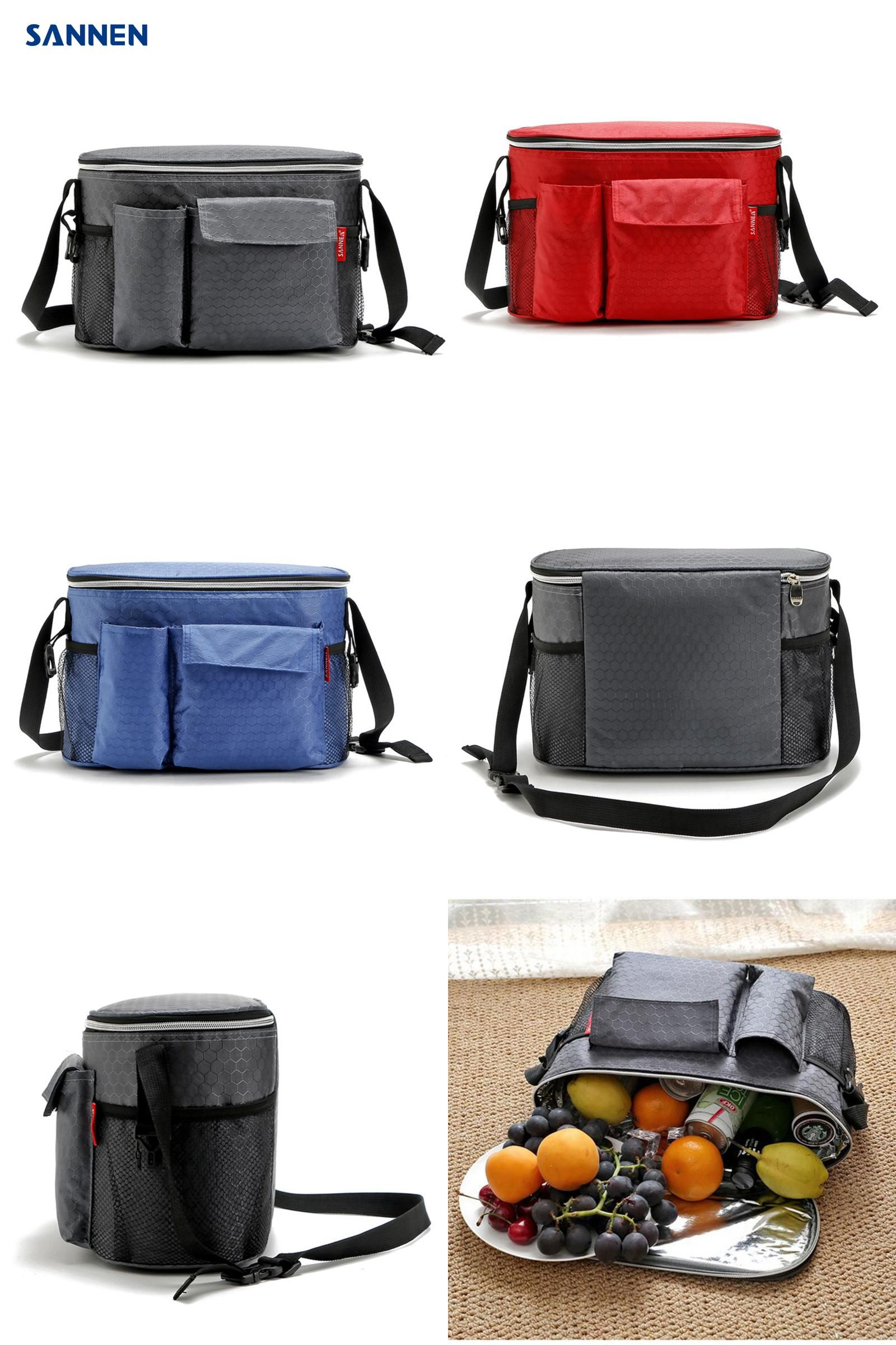 Visit To Buy Sannen 8l Oxford Thermal Lunch Bags For Women Adults Men Food Lunch Picnic Cooler Bag Insulated S Thermal Lunch Bag Picnic Cooler Bag Bottle Bag