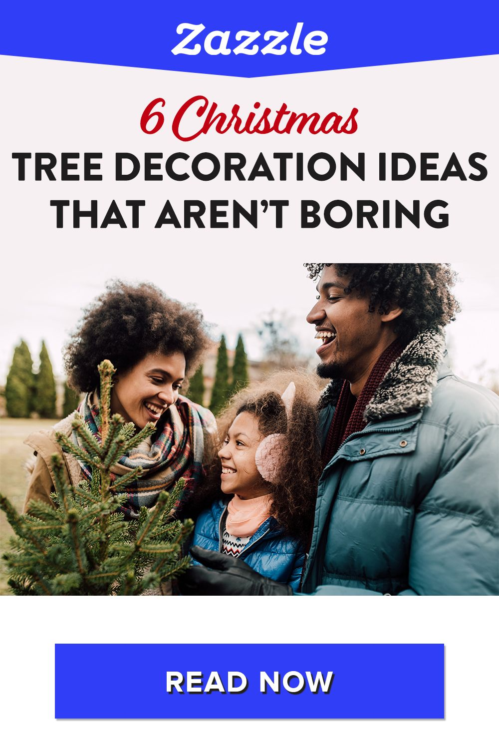 If you're looking to mix up your tree this year, check out our new and improved Christmas tree decorations that are anything but boring! Shop Zazzle for all things holiday including ornaments, holiday decor, Christmas cards, gifts and more!