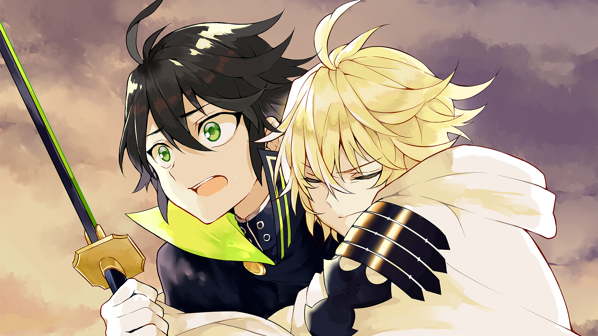 46 Seraph Of The End Hd Wallpapers Backgrounds Wallpaper Abyss Mikaela Hyakuya Owari No Seraph Seraph Of The End