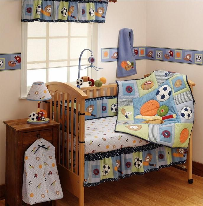Baby Boy Sports Crib Bedding Sets Trendy Family Must Haves For The