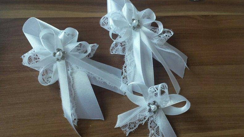 Svadobné pierko biela+ biela čipka