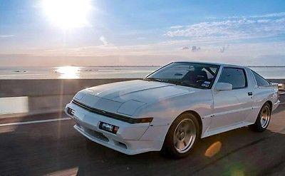 Ebay 1988 Chrysler Conquest Tsi White Aka Mitsubishi Starion 2 6