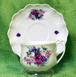 Bouquet of Flowers Anna Tea Cup