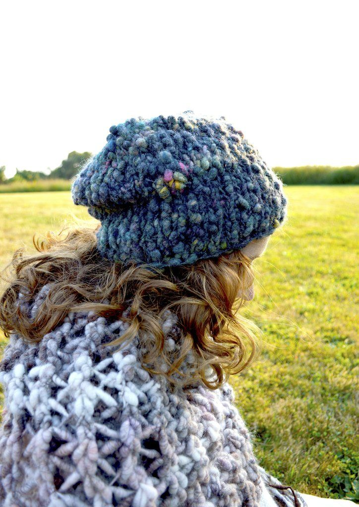 Cast Away Perfect Slouch Hat Pattern | Slouch hats, Circular needles ...
