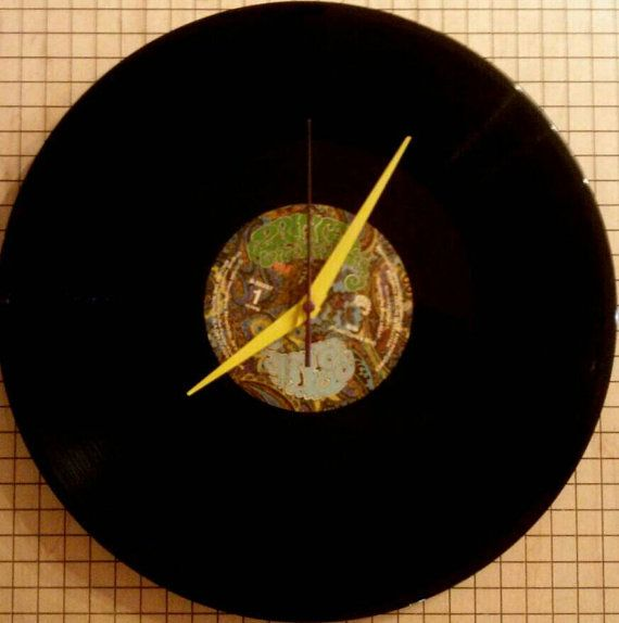 Prince Vinyl Records Wall Clocks Records by atomicrocketpoplab