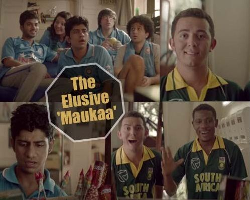 Indian fans reply to South African fans...!! #IndVsRSA  Mauka Mauka #MastiFry