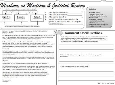 Worksheets Marbury V Madison Worksheet v madison worksheet delibertad marbury delibertad