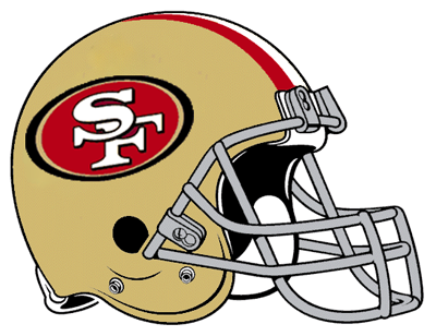 San Francisco 49ers 49ers helmet and San francisco 49ers