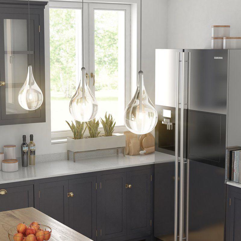 Neal 1 Light Teardrop Pendant Home Decor Kitchen Kitchen Decor Lighting Home Decor
