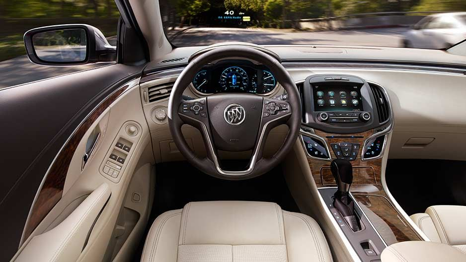 Interior Head Up Display Instead Of Asking You To Take Your Eyes Off The Road The Innovative Head Up Display Projects Infor Buick Lacrosse Luxury Sedan Buick