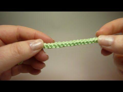 Cómo tejer cordones crochet / 3 Tutoriales | Patrones para Crochet ...