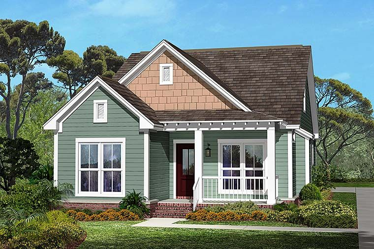Traditional Style House Plan 56937 With 3 Bed 2 Bath 2 Car Garage Craftsman Style House Plans Cottage Style House Plans Craftsman House Plans