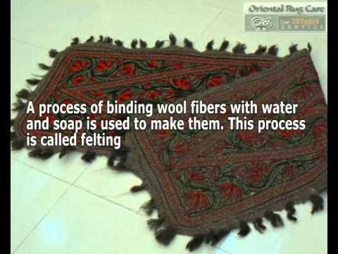 Oriental Rug Care use one of the best methods of cleaning on Numdha Rugs.