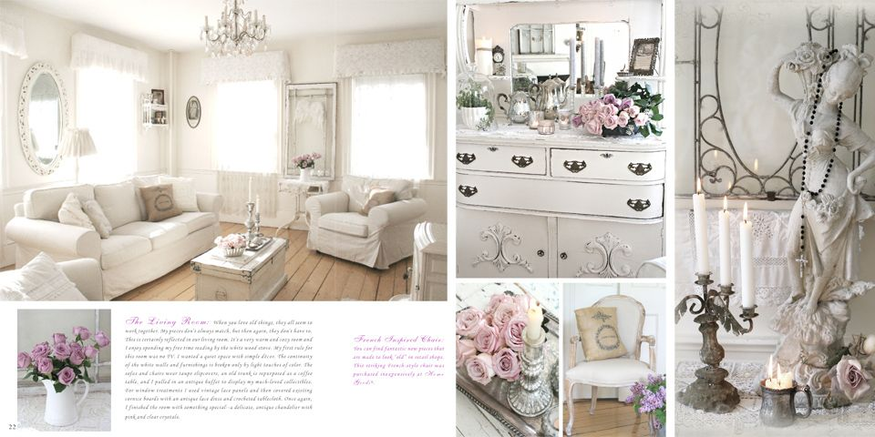 White Living Room By Jo Anne Coletti Chic Living Room Shabby Chic Room Shabby Chic Living Room Design
