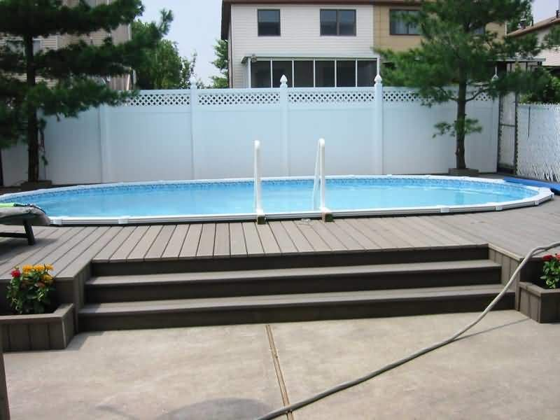 Photo of Semi Inground Pool – Cost – FAQ's Reviews, Advice & Pictures