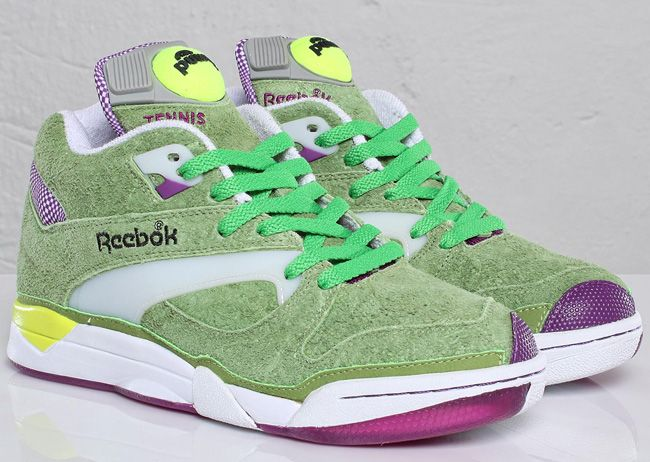 d43396cf3ecf Reebok s Court Victory Pump  Wimbledon Edition. These give new meaning to  the term
