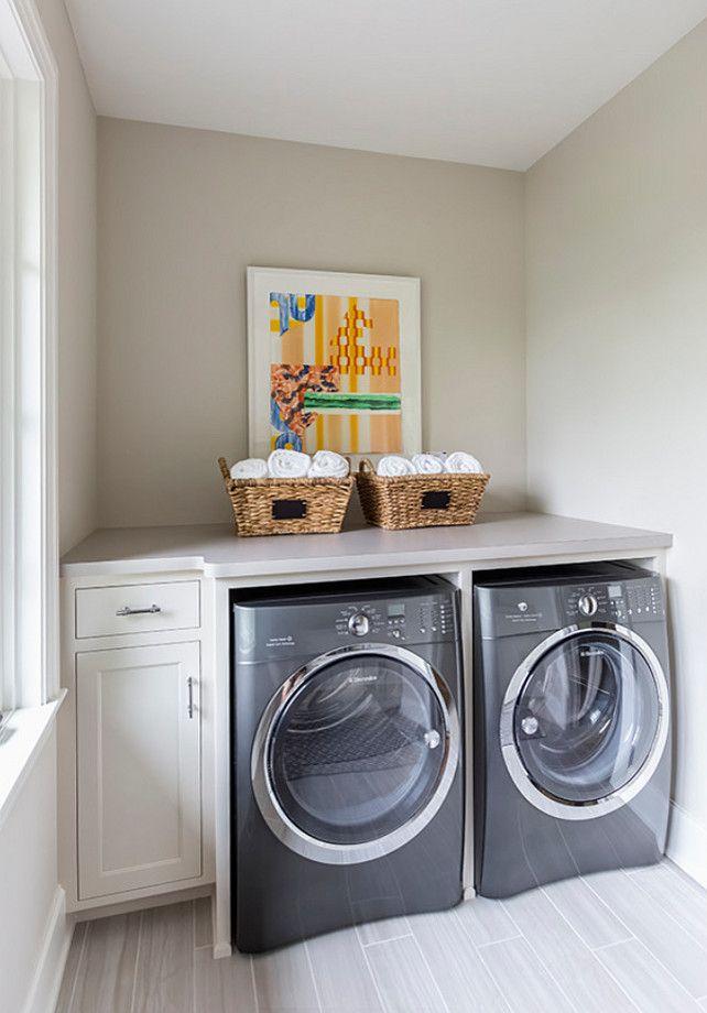 Colour Spotlight Benjamin Moore Collingwood Oc 28 Laundry Room