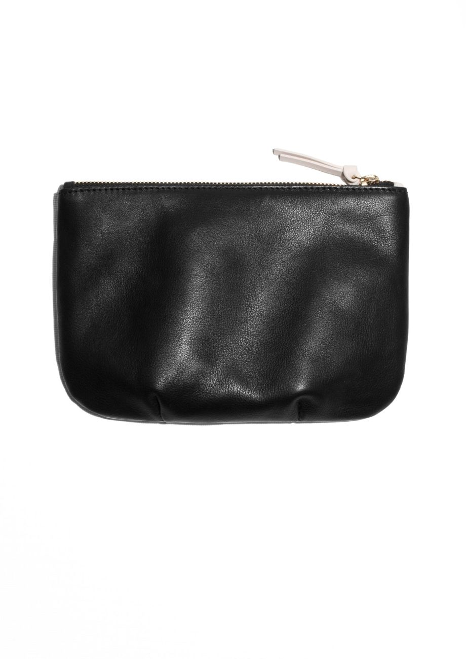 & Other Stories   Clare Vivier Leather Pouch