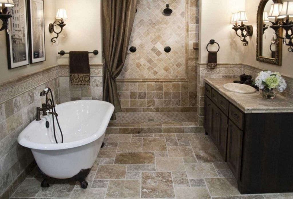 Old Home Bathroom Remodel Ideas Beige Bathroom Small Bathroom Bathroom Design Small