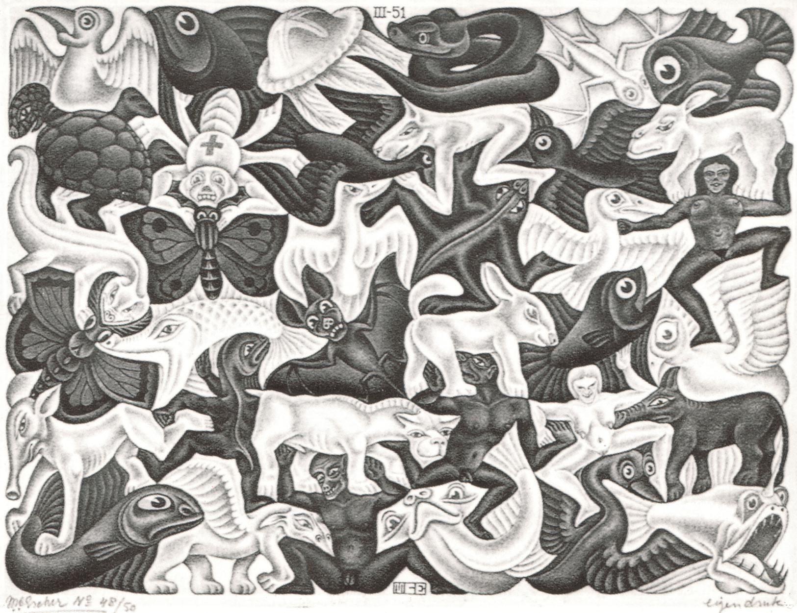 Mosaic I. | Maurits Cornelis Escher. | Pinterest