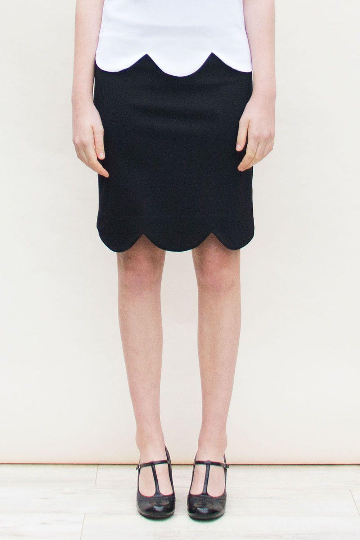 Lucy skirt Black