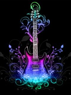 Fondos De Pantalla Para Celular Music Wallpaper Abstract Wallpaper Guitar Art