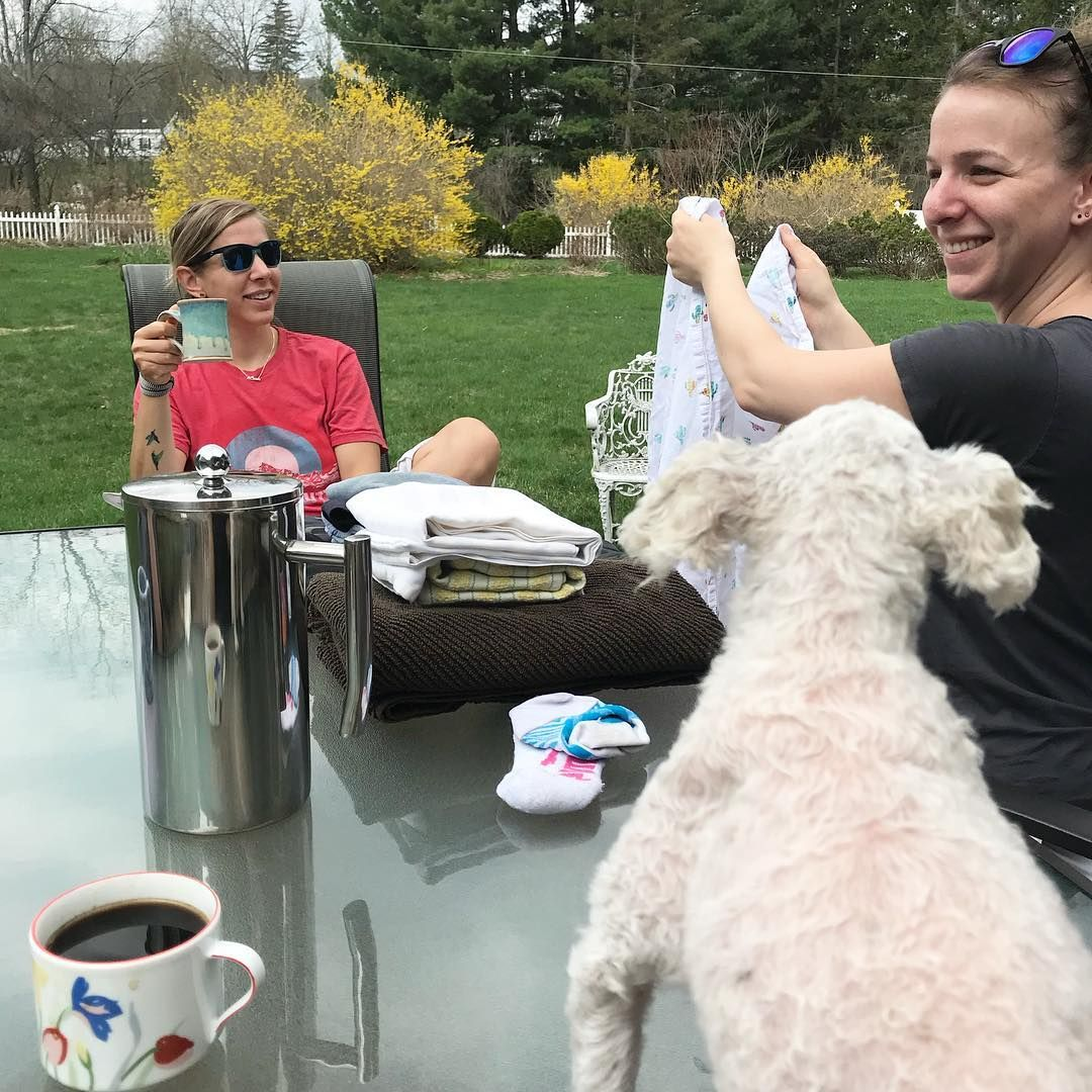 "Abby Gaudette on Instagram: ""#Morning #coffee at the olde homestead _ @fabes_84 @lindenlf #theberks #berkshires #theberkshires #berks #toypoodle #poodlesofinstagram…"""