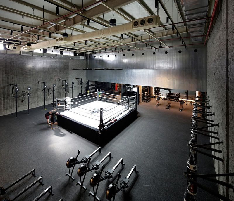 Branded Fitness Park Pop-Ups | Boxing gym and Spaces