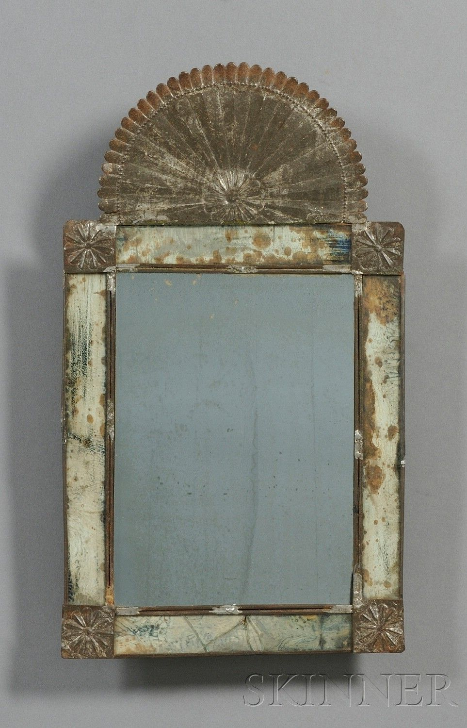 Old Rusty Chippy Mirror Tin Mirrors Mirror Painting Old