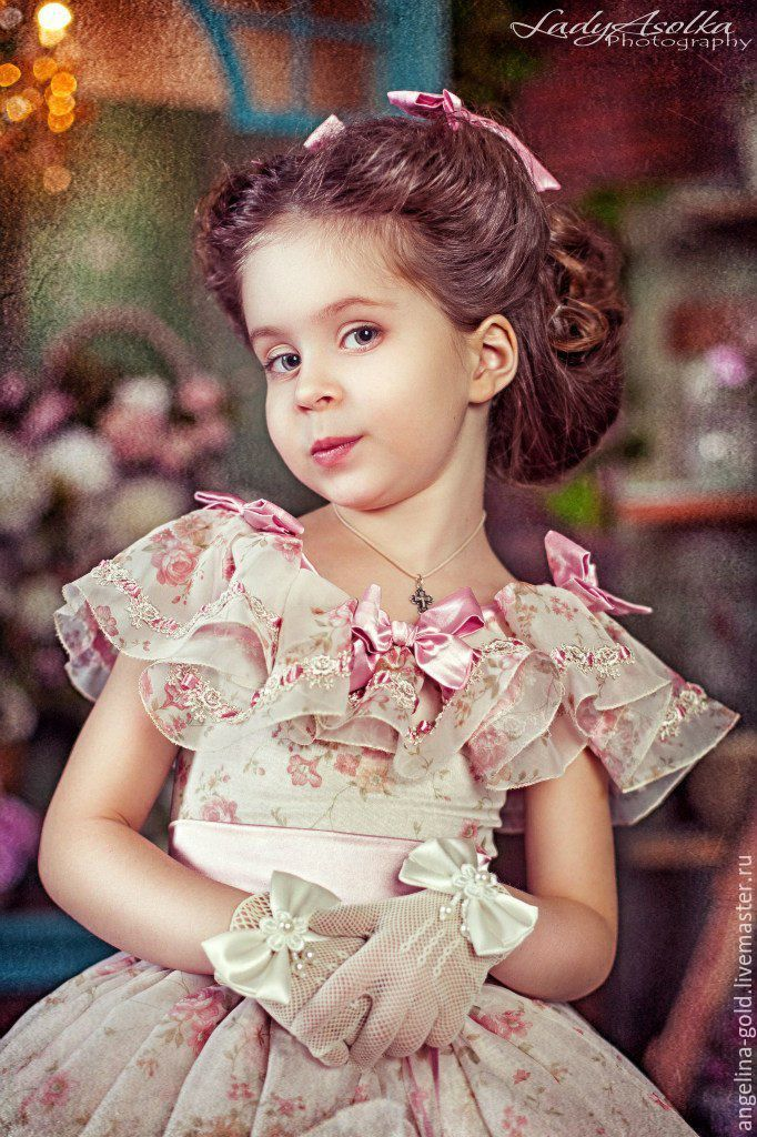 Купить Бальное платье для девочки - бальное платье девочке, детское платье пышное