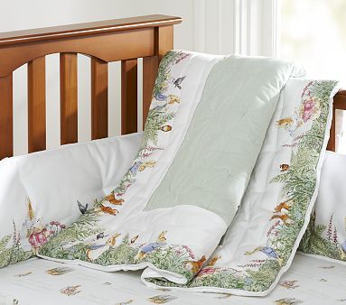 Peter Rabbit Bedding By Pottery Barn Bought The Crib Bumper And