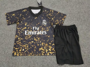 2019 20 Cheap Youth Kit Real Madrid 4th Replica Soccer Kids Suit 2019 20 Cheap Youth Kit Real Madrid 4th Replica Soccer Ki Kids Suits Soccer Shirts Kids Soccer