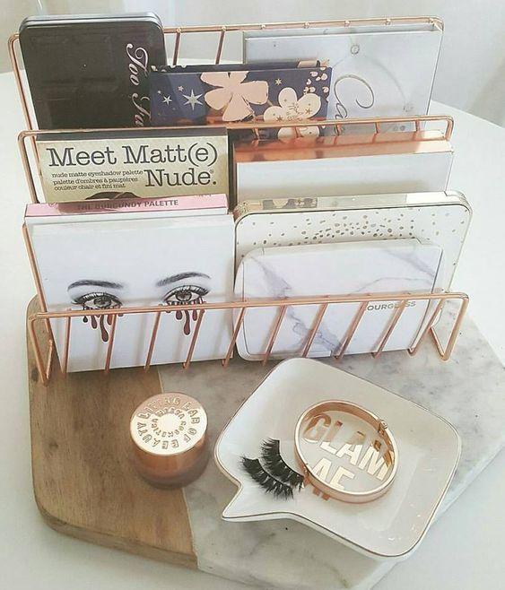 Brilliant Office Organization Ideas: 45 Brilliant Makeup Organizer & Storage Ideas For Girls In