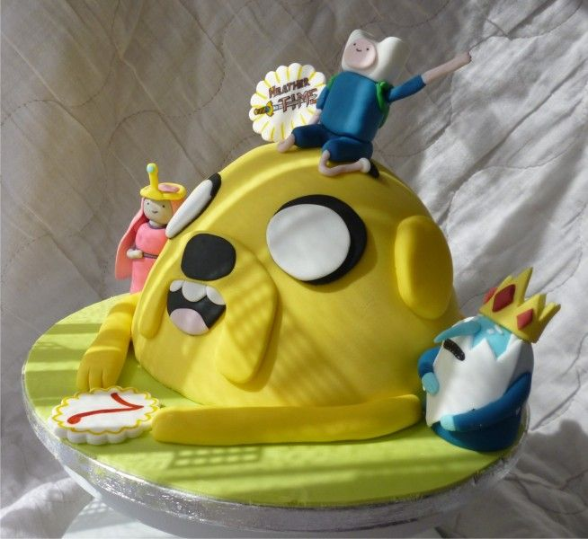 Heather Time cake Character Cakes nonDisney Pinterest