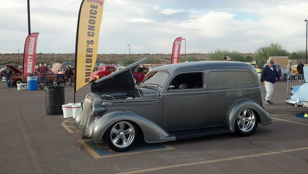 1936 Plymouth P2 Sedan Delivery Pickups Panels Vans Modified 1949 Chevy Trucks Old Vintage Classic