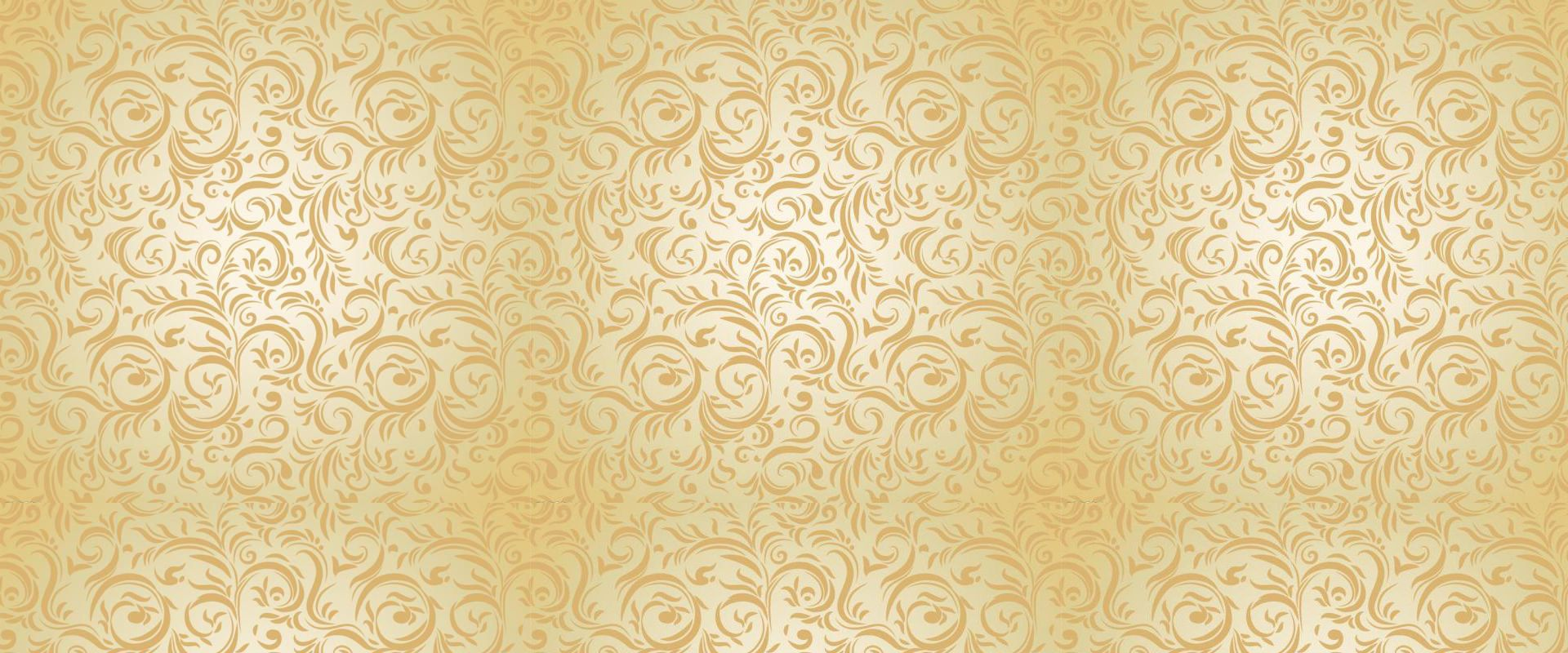 Golden European Pattern Background Material Texture Poster Background Patterns Free Background Photos Gold Circle Wall Decals