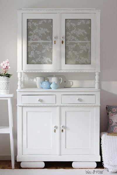 jugendstil k chenbuffet von bleu et ros auf. Black Bedroom Furniture Sets. Home Design Ideas