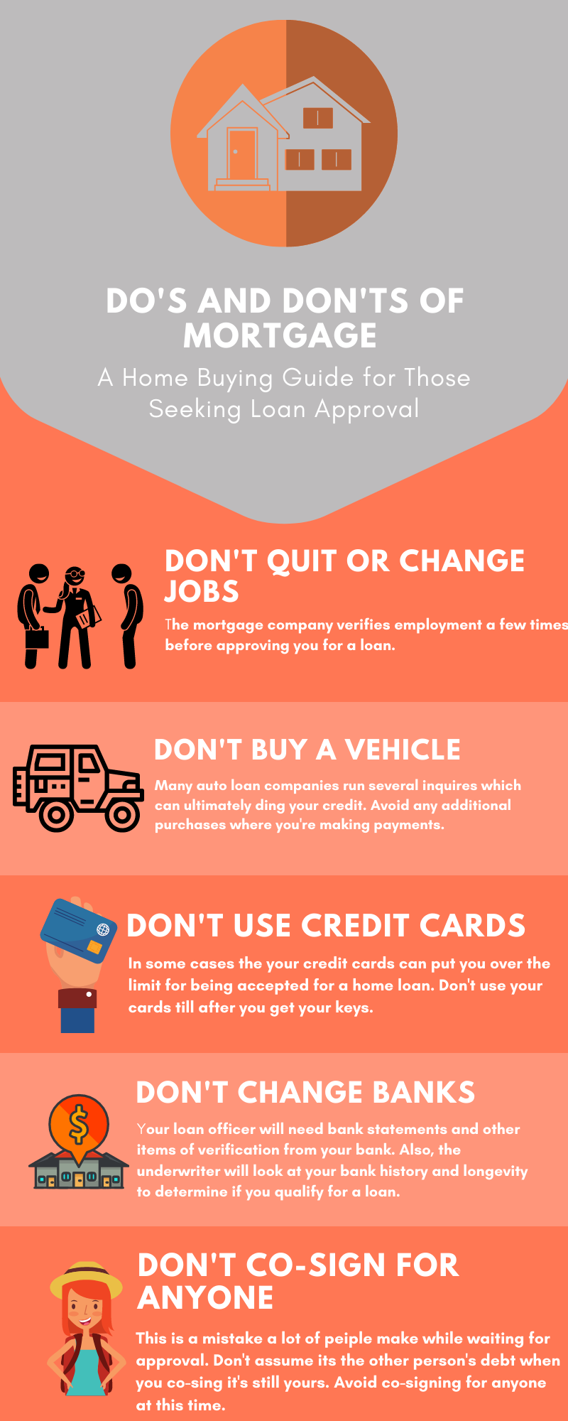 Do S And Dont S Of Mortgage In 2020 Changing Jobs Mortgage Companies Loan Company