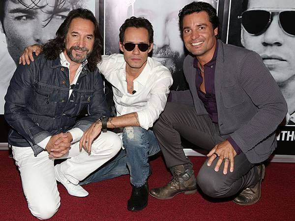 Marc Anthony, Chayanne, Marco Antonio Solis kick off tour