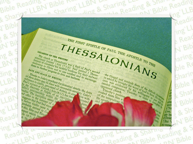 April 12, 2013 | 1 Thessalonians | Paul describes the model Church, Servant, Brother, Life; the coming of the Lord | Question: Who did Paul send to the Thessalonians to encourage them? | Answer to yesterday's question: 430 years. (Gal 3:17) | www.llbn.tv