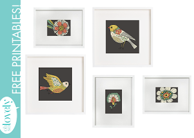 Oh So Lovely: FREE PRINTABLES...FOR THE BIRDS