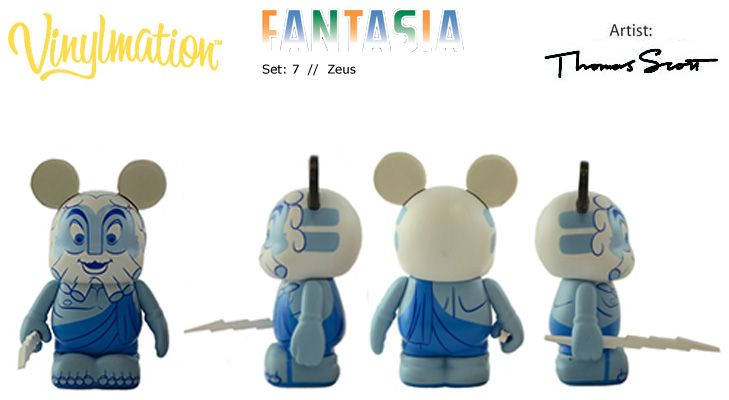 Zeus (Fantasia Series 7, LE 1500) by Thomas Scott #Vinylmation #fantasia #Disney