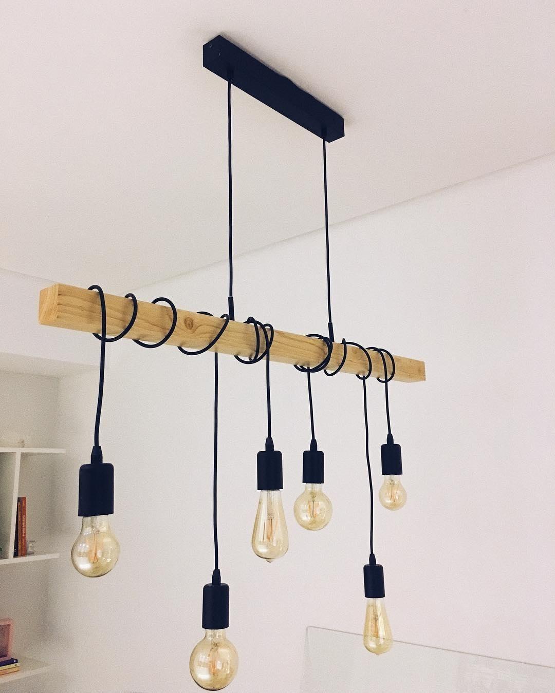 Modern Vibes Mit Der Einzigartigen Pendelleuchte Townshed Sorgst Du Fur Ein Highlight In Deinem Zuhaus Lampe Industrial Anhanger Lampen Esszimmer Lampe Modern