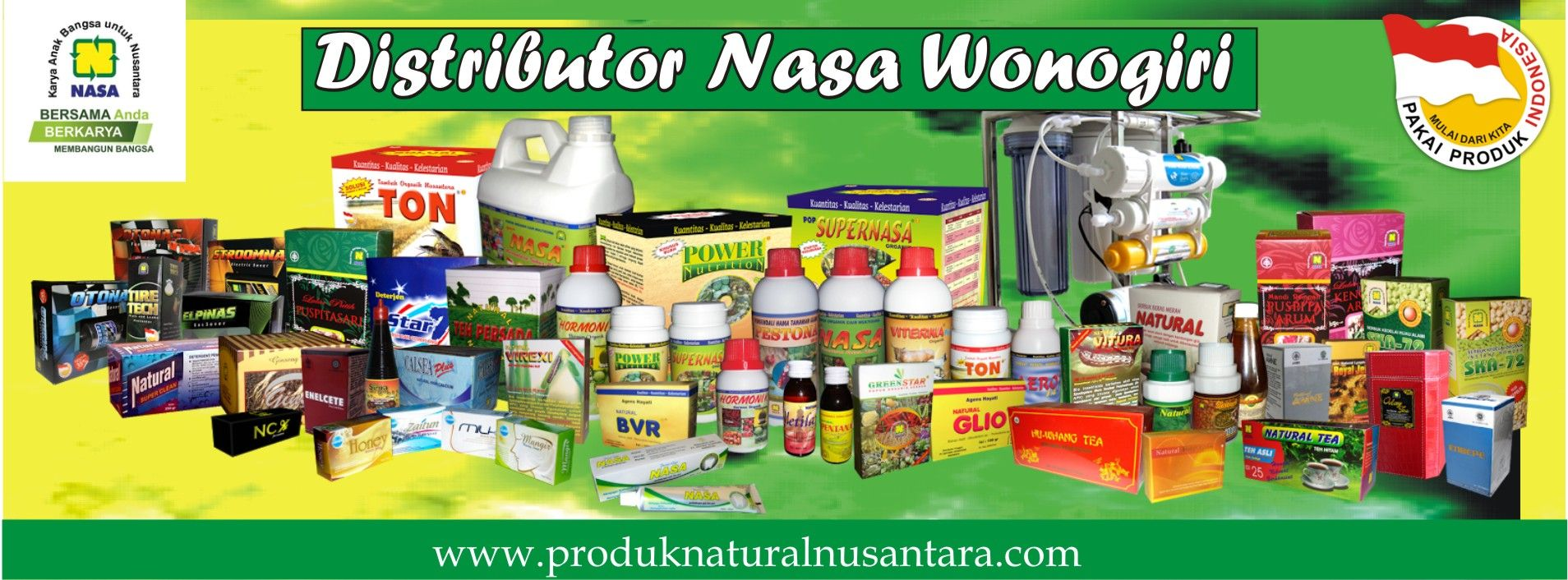 Distributor Nasa Wonogiri Stockist Penan Produk Di Agen