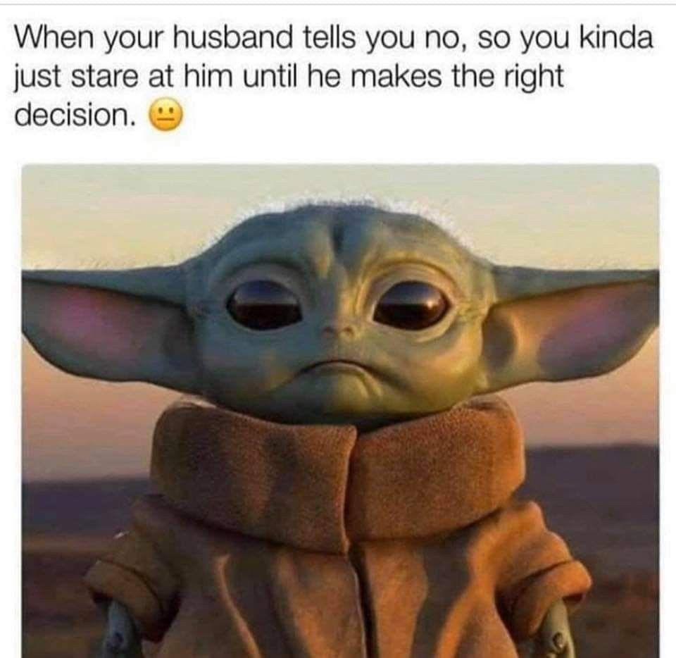 Pin By Stephen Munger On Baby Yoda Memes Yoda Meme Funny Babies Yoda Funny