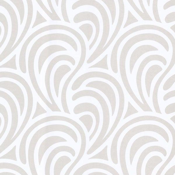 White Freeform - Eijffinger Wallpaper